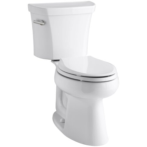 Highline Comfort Height Two-Piece Elongated 1.6 Gpf Toilet with Class Five Flush Technology and ...