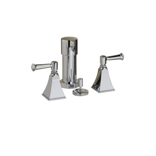 Kohler Memoirs Bidet Faucet with Stately Design and Lever Handles