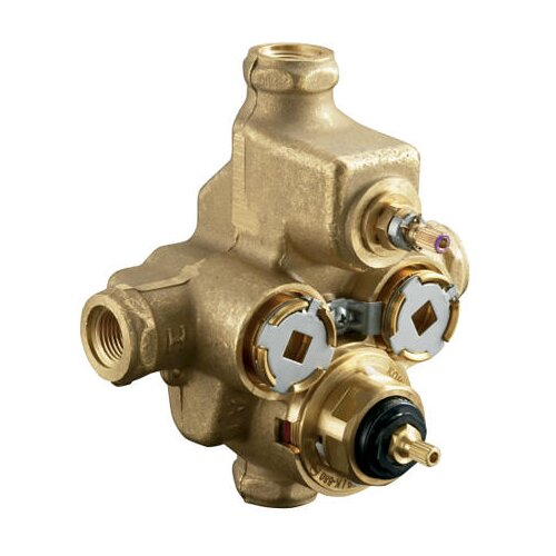 Kohler Mastershower Thermostatic Valve with Integrated Volume Control and Stops