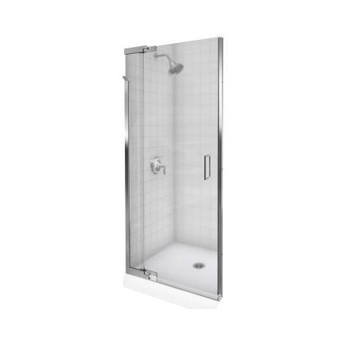 "Kohler Purist 39"" - 42"" W x 72"" H Pivot Shower Door with 0.25"" Frosted Glass"