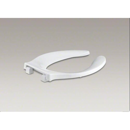 Stronghold Elongated Toilet Seat with Quiet-Close Check Hinge