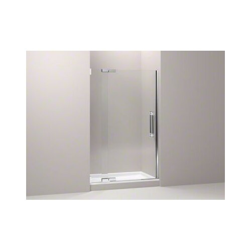"Kohler Pinstripe 45.25"" - 47.75"" Pivot Shower Door with 0.5"" Crystal Clear Glass"