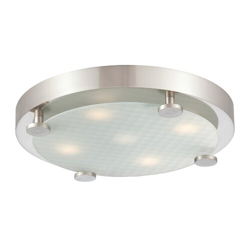 Flush 4 Light Ceiling Lamp