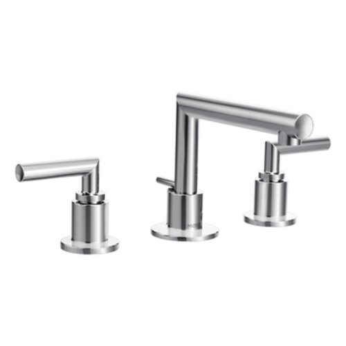 Arris Double Handle Widespread Bathroom Faucet