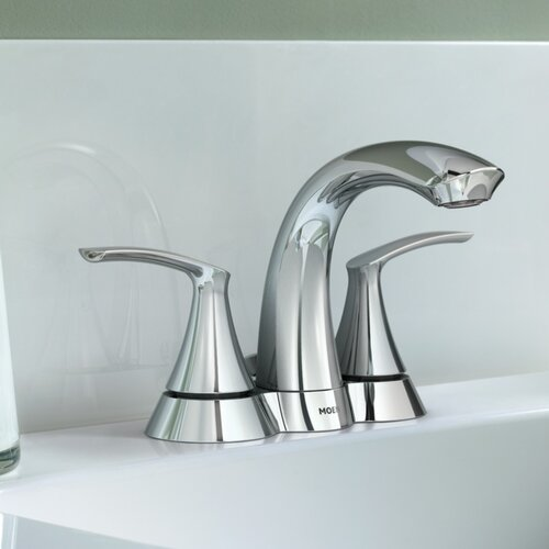 Darcy Double Handle Centerset Bathroom Faucet