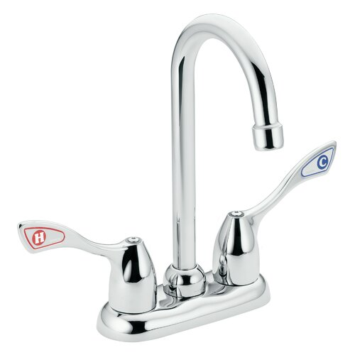 Commercial Two Handle Centerset Lead Compliant Bar Faucet