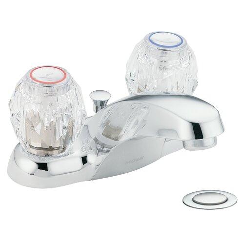 moen chateau single knob handle centerset bathroom faucet