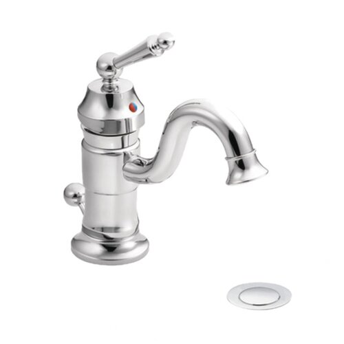 Waterhill Single Hole Bathroom Faucet with Single Handle