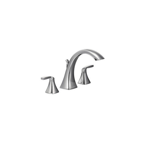 Moen Voss Two Handle High Arc Roman Tub Faucet