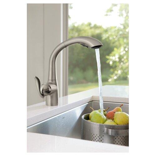 Moen Arbor Spot Resistant Stainless Steel Kitchen Faucet