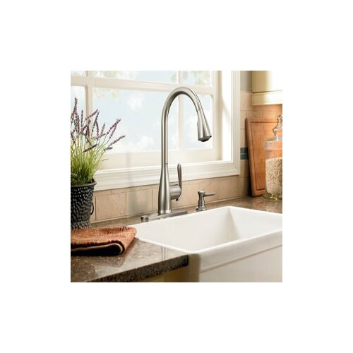 Haysfield One Handle High Arc Kitchen Faucet
