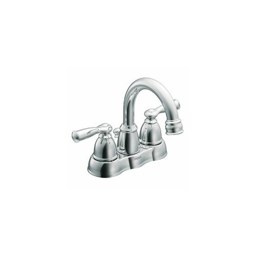 Moen Banbury Two Handle Centerset High Arc Lead Compliant Bathroom Faucet