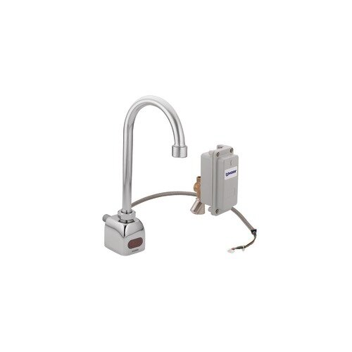 M-Power Sensor-Operated Electronic Centerset Lead Compliant High Arc Bathroom Faucet