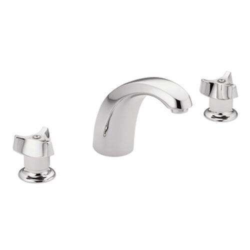 M-Bition Double Handle Widespread Bathroom Faucet