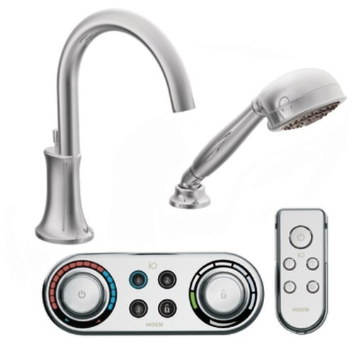 Moen Icon High Arc Roman Tub Faucet with Hand Shower