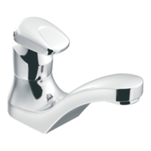 Commercial Metering Bathroom Faucet with Single Handle