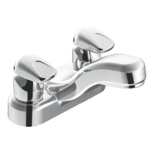 Commercial Centerset Bathroom Faucet with Double Handles