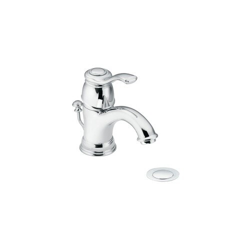 Moen Kingsley Single Hole Bathroom Faucet with Single Lever Handle