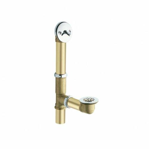 moen replacement parts 1 5 quot trip lever leg tub drain