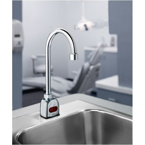 Moen Gooseneck Single Hole Electronic Faucet Less Handles