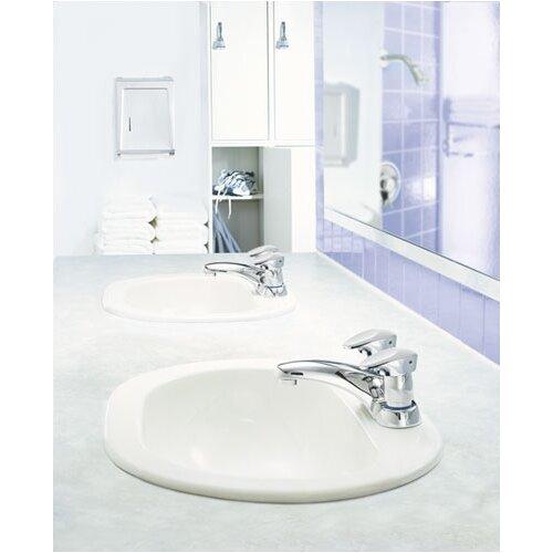 Moen Commercial Centerset Bathroom Faucet with Double Handles