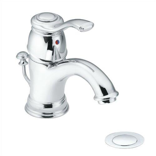 Moen Kingsley Single Hole Bathroom Faucet with Single Lever Handle