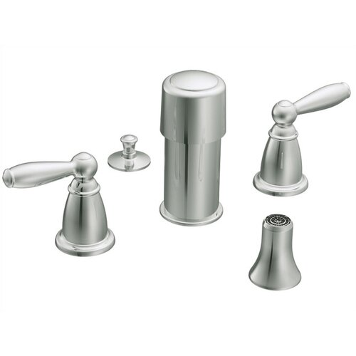 Moen Brantford Double Handle Vertical Spray Bidet Faucet