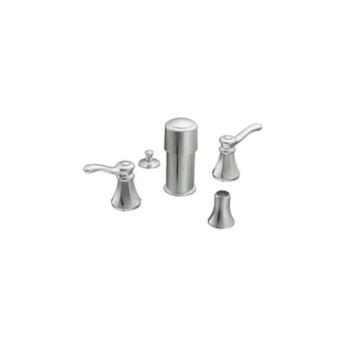 Moen Vestige Double Handle Vertical Spray Bidet Faucet Trim Kit