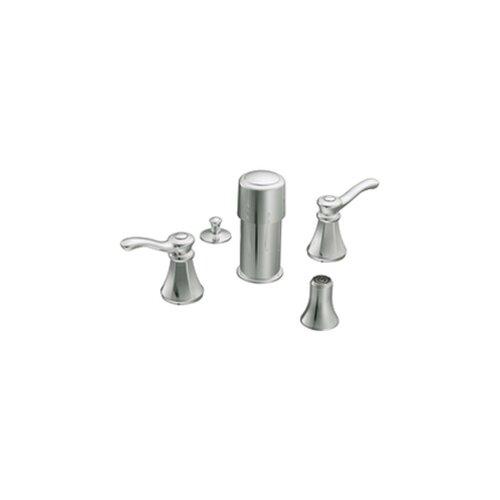 Vestige Double Handle Vertical Spray Bidet Faucet Trim Kit
