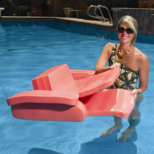 TRC Recreation LP Softie Folding Pool Lounger