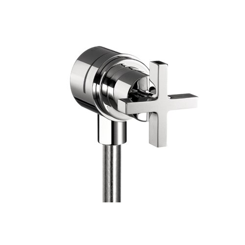 Hansgrohe Axor Citterio Fix Fit Wall Outlet with Cross Handle