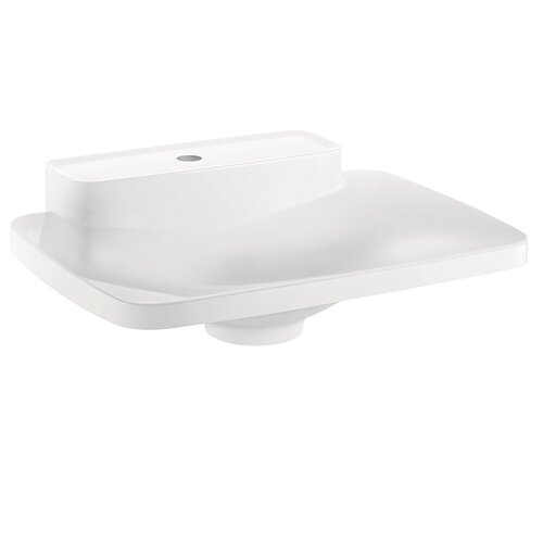 Hansgrohe Axor Bouroullec Small Drop In Bathroom Sink with One Shelf