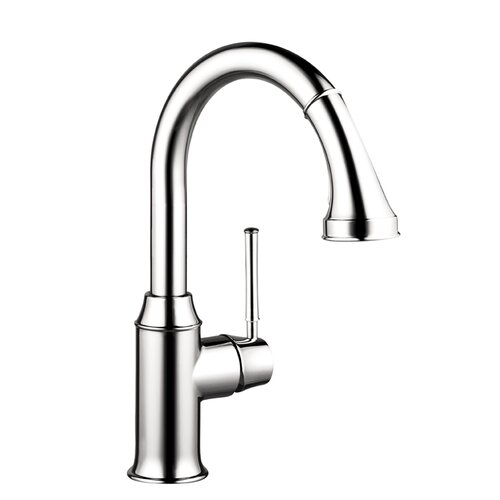 Talis C Prep One Handle Single Hole Kitchen Faucet with Pull Down 2 Spray