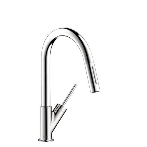 Axor Starck HighArc Single Handle Single Hole Bar Kitchen Faucet