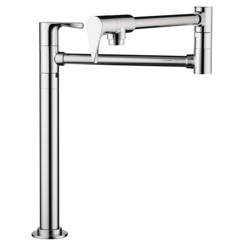 Axor Citterio Double Handle Deck-Mounted Pot Filler Faucet