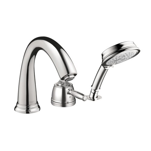 Hansgrohe Swing C Single Handle Dual Function Roman Tub Faucet and Hand Shower