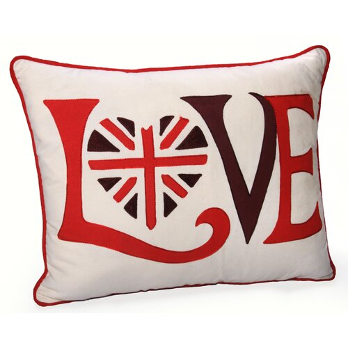 Retro Love Cotton Pillow