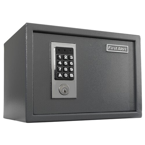 First Alert Digital Dial Lock Anti-Theft Safe