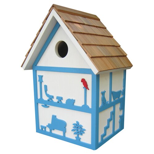 Designs By Ken Sobel Birdroomz Mounted Birdhouse