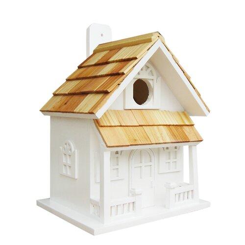 Home Bazaar Nestling Country Cottage Hanging Birdhouse