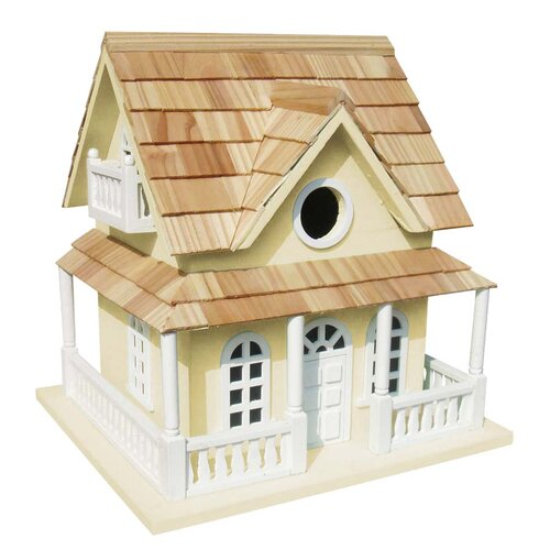 Classic Series Cape May Cottage Free Standing Birdhouse