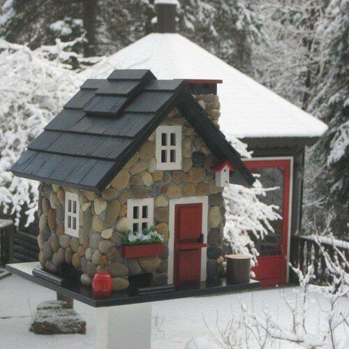 Home Bazaar Cottage Charmer Series Windy Ridge Decorative Bird Feeder