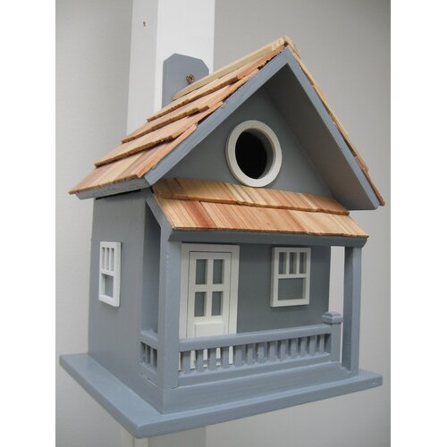 Nestling Little Cabin Birdhouse