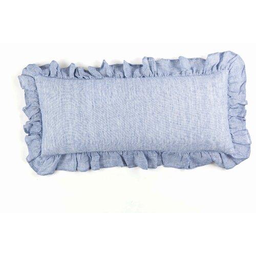 Chambray Savannah Linen Boudoir Pillow