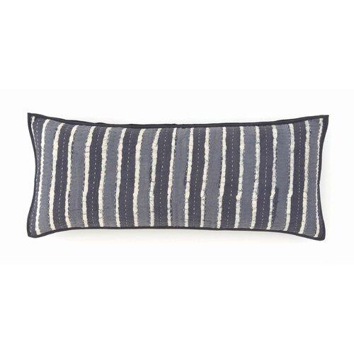 Resist Kantha Cotton Boudoir Pillow
