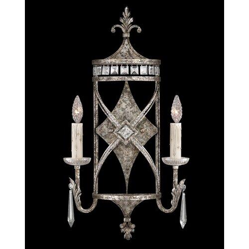 Fine Art Lamps Winter Palace 2 Light Wall Sconce