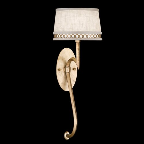 Fine Art Lamps Allegretto Gold 1 Light Wall Sconce