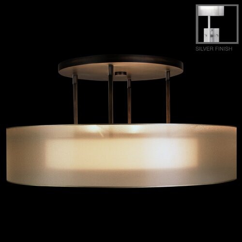 Fine Art Lamps Quadralli 3 Light  Drum Pendant