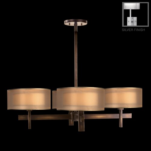 Quadralli 4 Light Chandelier