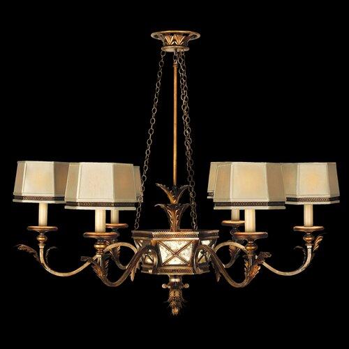 Fine Art Lamps Newport 6 Light Chandelier
